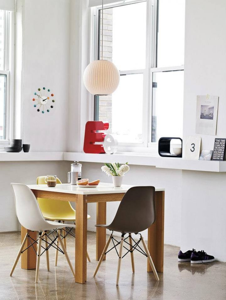 La silla perfecta para tu comedor diario desillas for Cuadros modernos para comedor diario