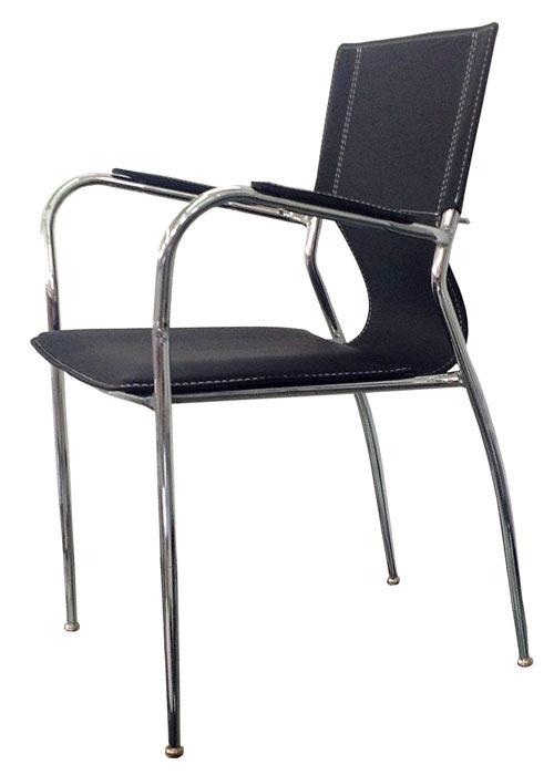 Sill n diamante sillas cromadas ponete comodo for Sillas cromadas