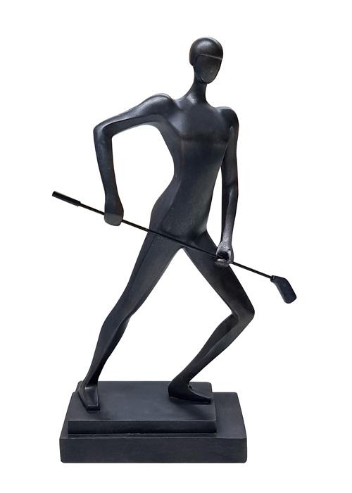 Escultura Hombre Golf
