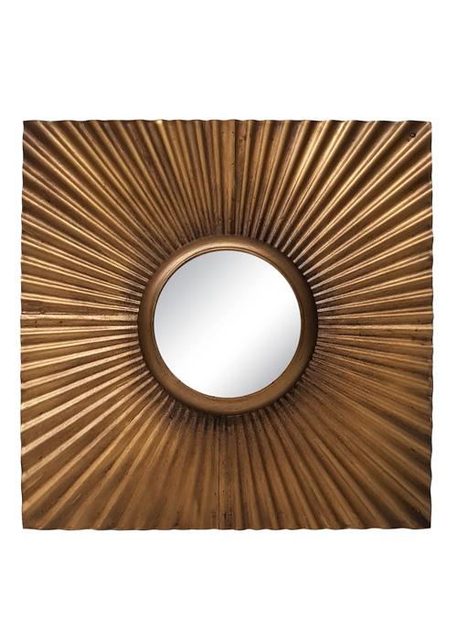 Espejo Metal Sol 6