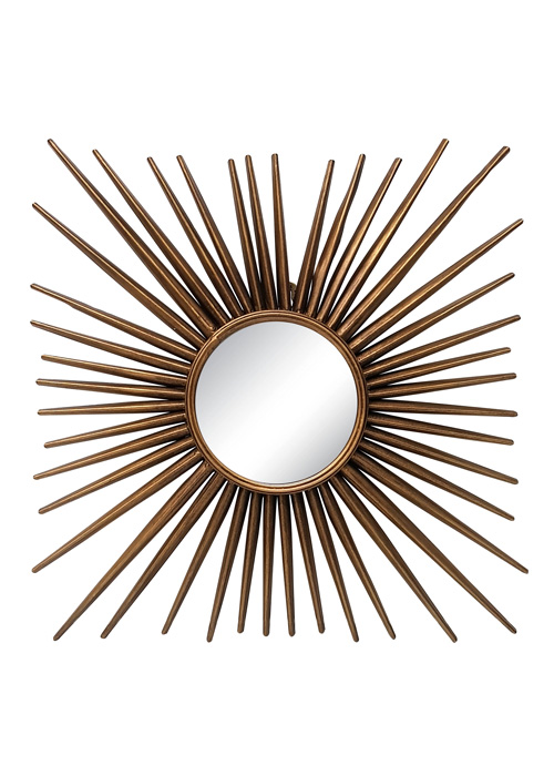 Espejo Metal Sol 3