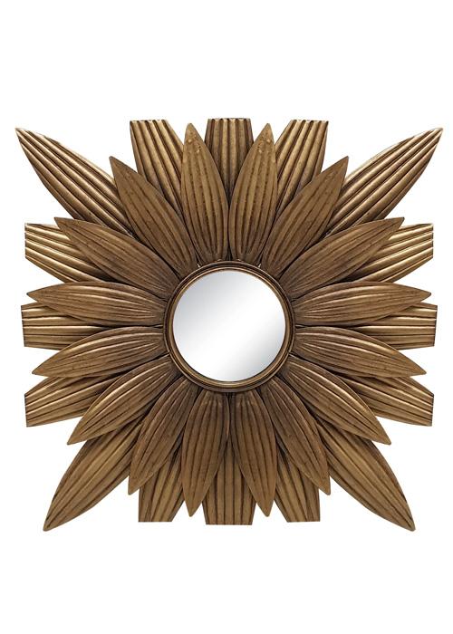 Espejo Metal Sol 5
