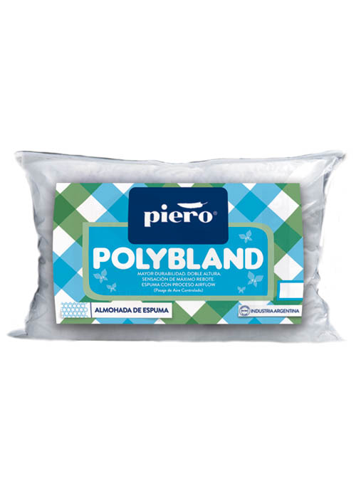 Almohada 80x35 Polybland Doble