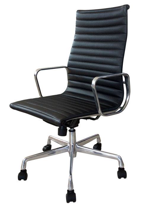 Silla aluminum alta sillas oficina sillas cromadas - Silla oficina alta ...