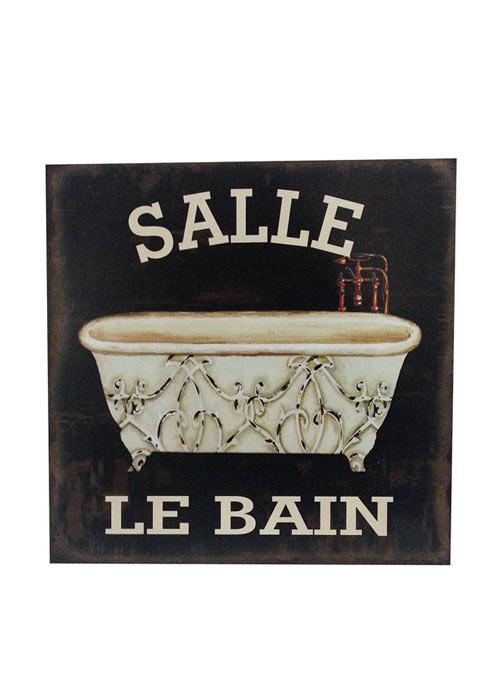 Cuadro Le Bain Salle