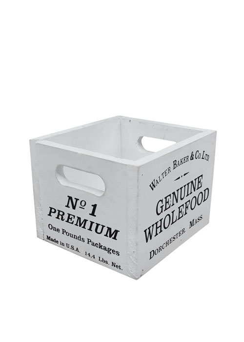 Cajón Chico Wholefood White