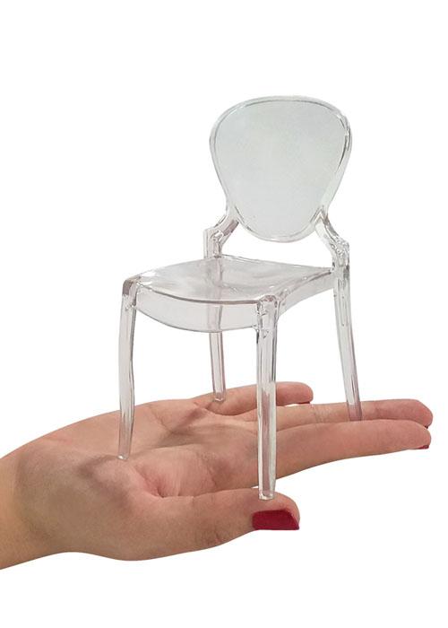 Silla Clear Miniatura