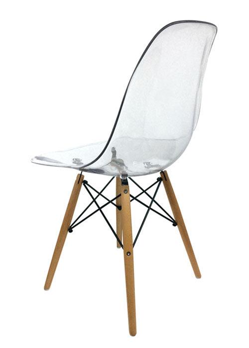 Silla Eames Transparente
