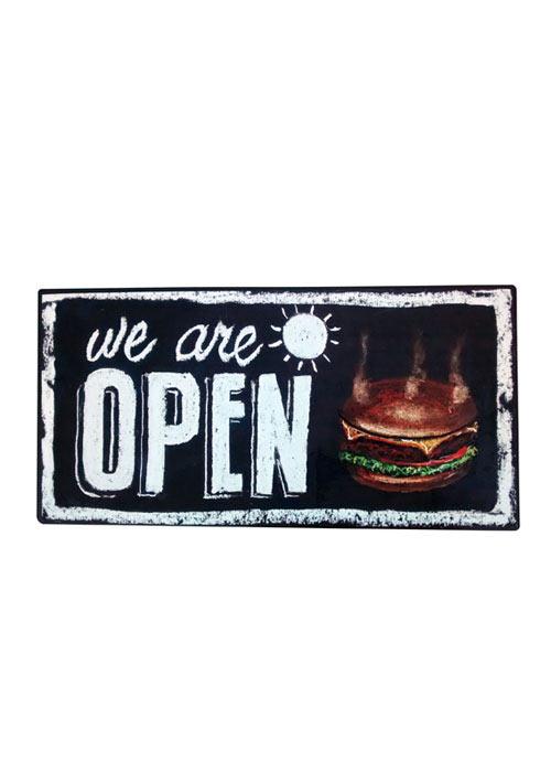 Cuadro Open Burger