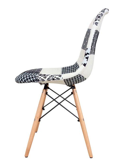 Silla Eames Patchwork White