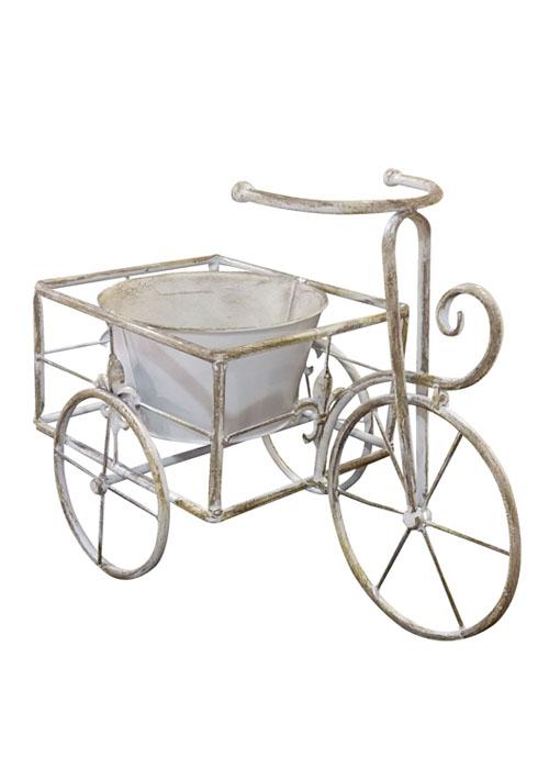 Porta Maceta Triciclo Vintage