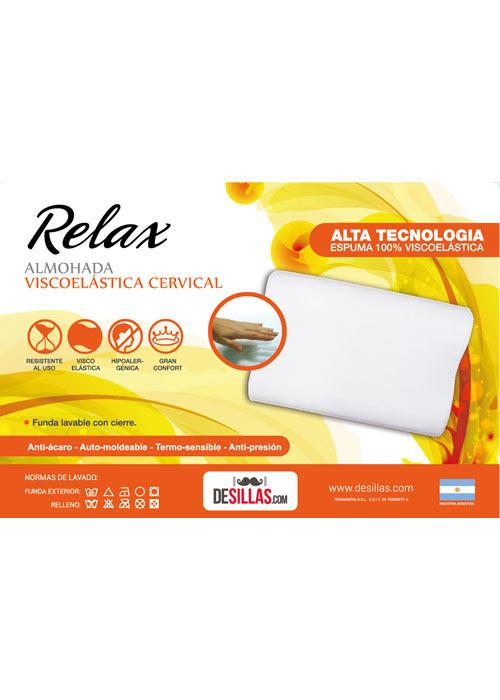 Almohada Relax Cervical