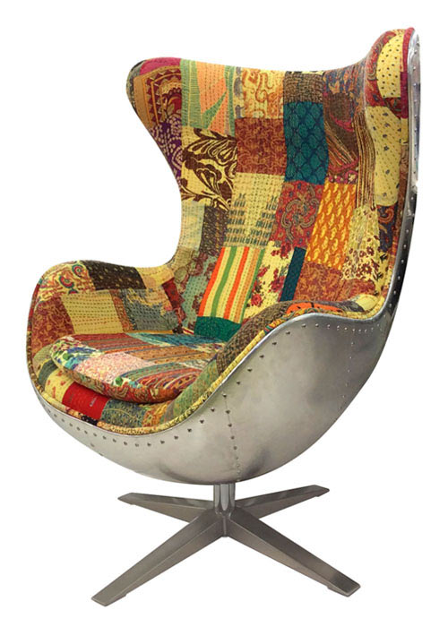 Sillon Egg Patchwork
