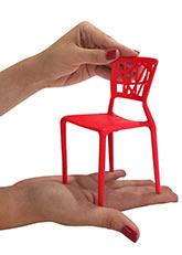 Silla Amelie Miniatura - Rojo
