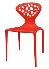 Silla Chesterfield - Rojo