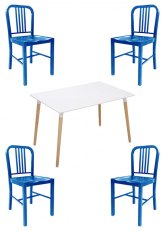 Set N° 44 - Tono Azul Claro