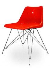Silla Brusellas - Rojo
