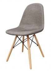 Silla Eames Tapizada - Tequila Gris