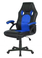 Sillón Pro Gamer Momentum - Negro con Azul
