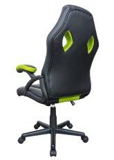 Sillón Pro Gamer Momentum - Negro con Verde