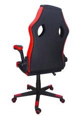Sillón Pro Gamer - Negro con Rojo