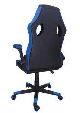 Sillón Pro Gamer - Negro con Azul
