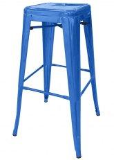 Taburete Alto Tolix Especial - Tono Azul Claro