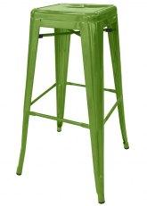 Taburete Alto Tolix Especial - Tono Verde Claro