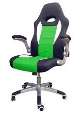 Sillón Pro Gamer Sonic - Negro con Verde