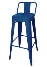Taburete Alto Tolix RM SP - Tono Azul Oscuro