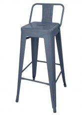 Taburete Alto Tolix RM SP - Tono Gris Azulado