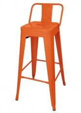 Taburete Alto Tolix RM SP - Tono Naranja