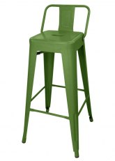 Taburete Alto Tolix RM SP - Tono Verde Claro