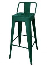 Taburete Alto Tolix RM SP - Tono Verde Oscuro