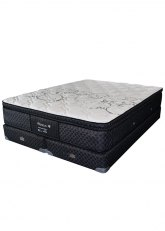 Sommier 200x200x31 Suavestar Perseus - Gris Oscuro