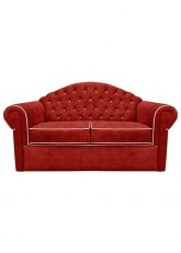 Sofa Cama Copenhague - Venecia Rojo