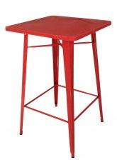Mesa Alta Tolix 80 - Tono Rojo