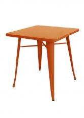 Mesa Tolix 60 - Tono Naranja