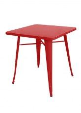 Mesa Tolix 60 - Tono Rojo