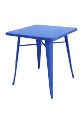 Mesa Tolix 60 - Tono Azul Claro