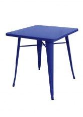 Mesa Tolix 60 - Tono Azul Oscuro