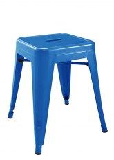 Taburete bajo Tolix especial - Tono Azul Claro