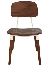 Silla American Hard Wood - Madera Oscura