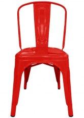 Silla Tolix - Tono Rojo