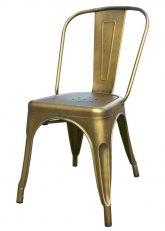 Silla Tolix Vintage - Oro