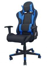 Sillón Pro Gamer Excelsior - Negro con Azul