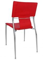 Silla Diamante - Tapizado Rojo