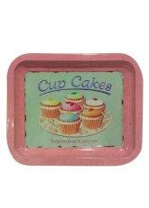 Bandeja Chica Cupcake - Rosa
