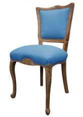 Silla Luis XV Flor - Don Blue