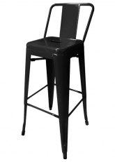 Taburete Alto Tolix RM - Tono Negro